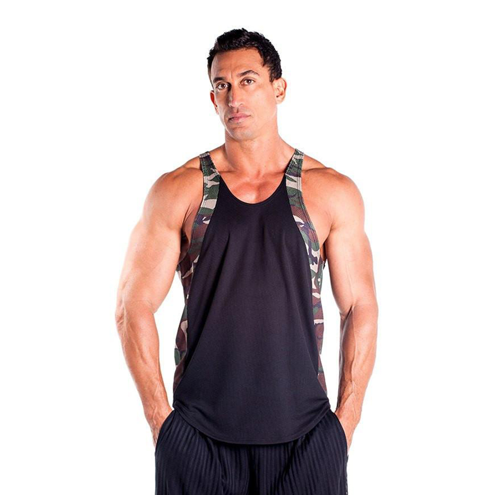 d017a1b45278b Men s Two Tone Dri-Fit Stringer Tank