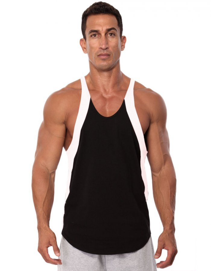 0f5b4a0afe3508 Two-Tone Stringer Tank Top - 3150